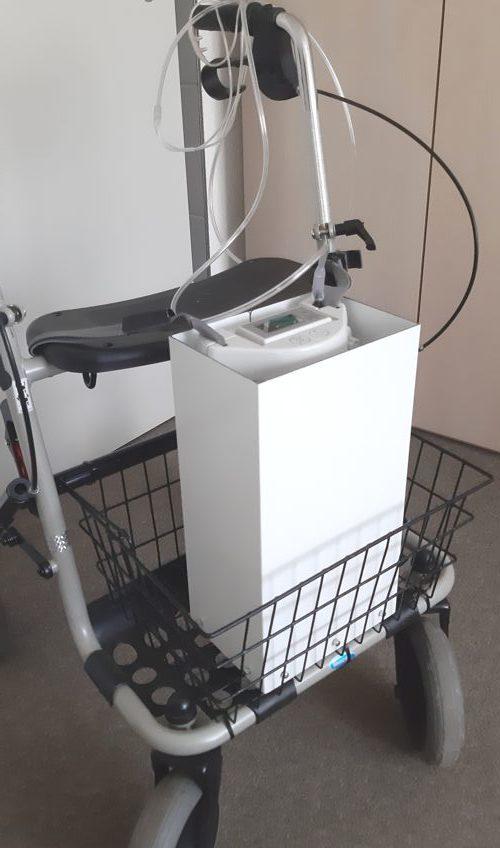 Gehäuse für Sauerstoff-Atemgerät.2