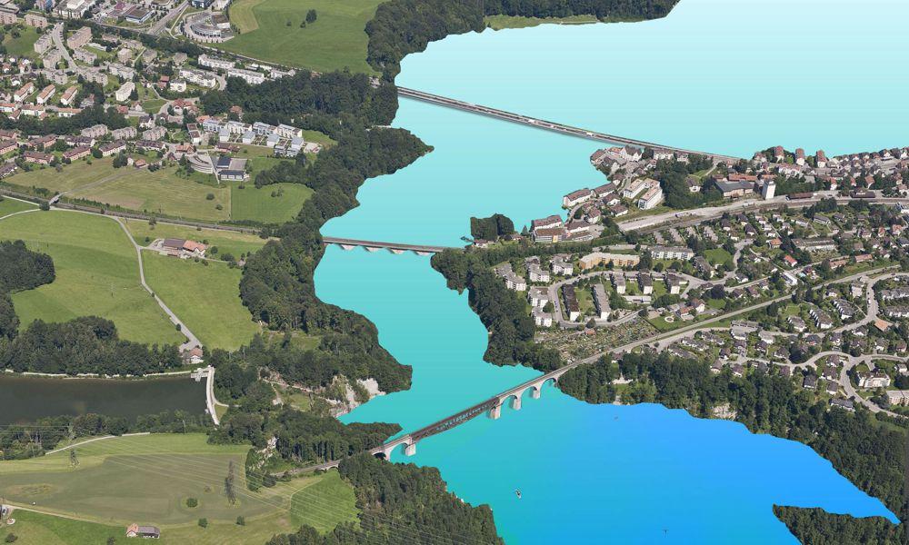 Westsee St.Gallen / Weitaufnahme